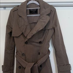 Women ALL SAINTS spitalfields Trench Coat Jacket